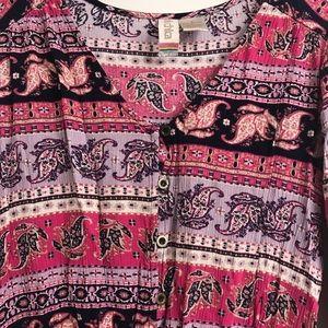 0a76c162e61 Mimi Chica Pants - Mimi Chica paisley Long sleeve romper small